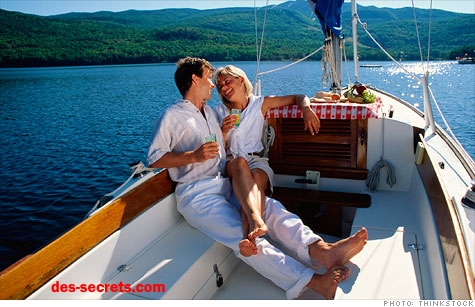 couple yacht Gains Questra